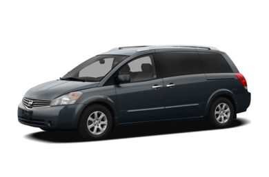3/4 Front Glamour 2006 Nissan Quest