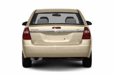 Rear Profile  2008 Chevrolet Malibu Classic
