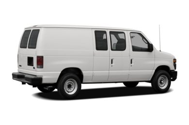 3 4 Rear Glamour 2008 Ford E 150