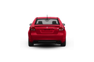 Surround Rear Profile 2008 Pontiac G8