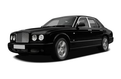 3/4 Front Glamour 2009 Bentley Arnage