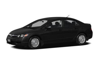 3 4 Front Glamour 2009 Honda Civic Hybrid