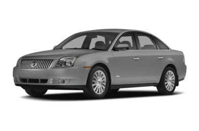 3/4 Front Glamour 2009 Mercury Sable