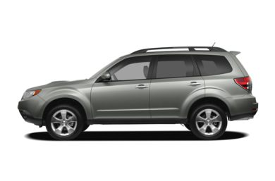 90 Degree Profile 2009 Subaru Forester