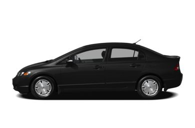 90 Degree Profile 2010 Honda Civic Hybrid