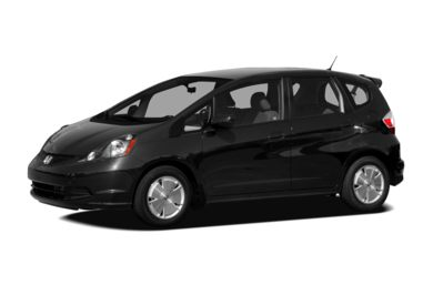 3/4 Front Glamour 2010 Honda Fit