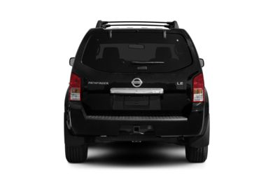 Rear Profile  2010 Nissan Pathfinder