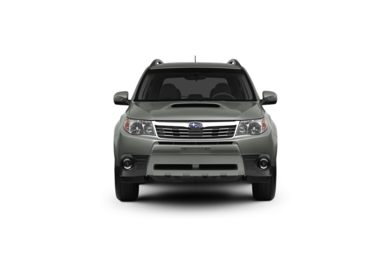 Surround Front Profile  2010 Subaru Forester