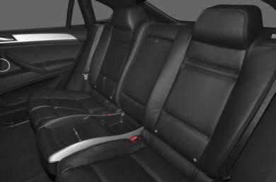 Rear Interior Volume 2011 BMW X6