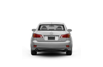 Surround Rear Profile 2011 Lexus IS 350