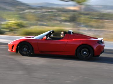 Silver Ford Fusion >> See 2011 Tesla Roadster Color Options - CarsDirect