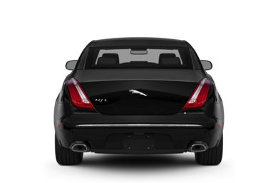 Rear Profile  2012 Jaguar XJ