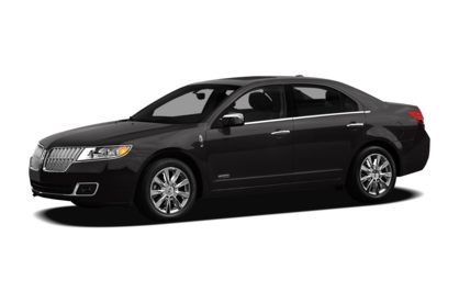 3/4 Front Glamour 2012 Lincoln MKZ Hybrid