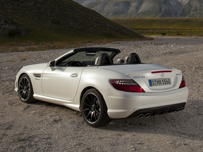 2015 Merceds-Benz SLK55 AMG Rear