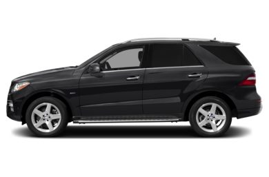 90 Degree Profile 2012 Mercedes-Benz ML550