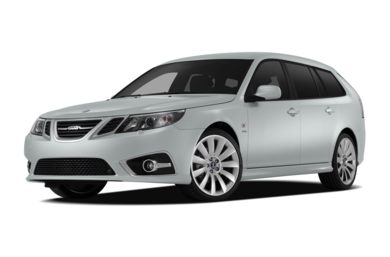 3/4 Front Glamour 2012 Saab 9-3X