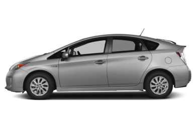 90 Degree Profile 2012 Toyota Prius Plug-in