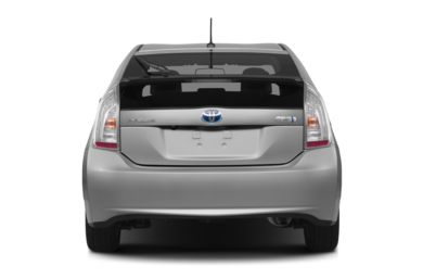 Rear Profile  2012 Toyota Prius Plug-in