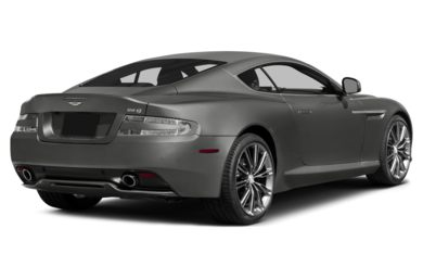 3/4 Rear Glamour  2013 Aston Martin DB9