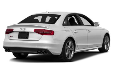 3/4 Rear Glamour  2014 Audi S4