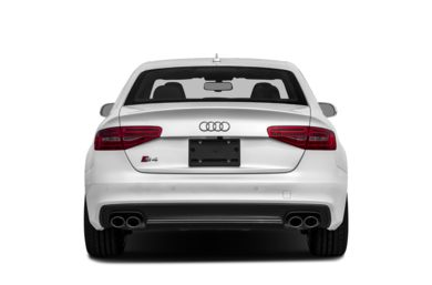 Rear Profile  2014 Audi S4