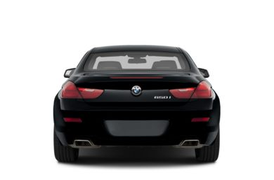 Rear Profile  2013 BMW 650