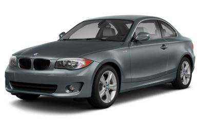 3/4 Front Glamour 2013 BMW 128