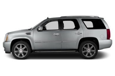 90 Degree Profile 2013 Cadillac Escalade