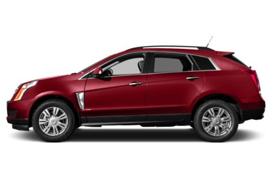90 Degree Profile 2016 Cadillac SRX