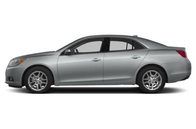 90 Degree Profile 2013 Chevrolet Malibu