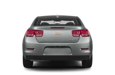 Rear Profile  2013 Chevrolet Malibu