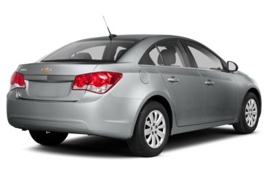 3/4 Rear Glamour  2013 Chevrolet Cruze