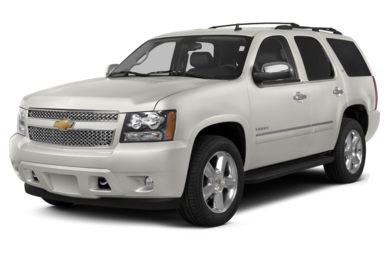 3/4 Front Glamour 2013 Chevrolet Tahoe