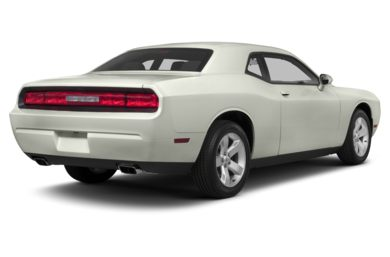 3/4 Rear Glamour  2013 Dodge Challenger