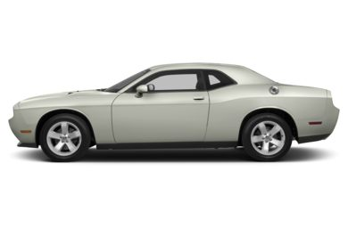 90 Degree Profile 2013 Dodge Challenger