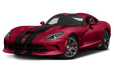 3/4 Front Glamour 2017 Dodge Viper