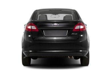 Rear Profile  2013 Ford Fiesta