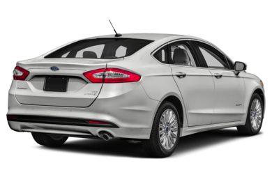 3 4 Rear Glamour 2016 Ford Fusion Hybrid