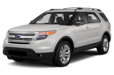 3/4 Front Glamour 2013 Ford Explorer