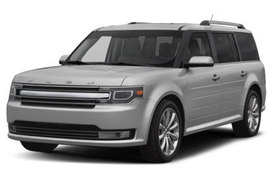3/4 Front Glamour 2016 Ford Flex