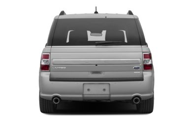 Rear Profile  2013 Ford Flex