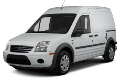 3/4 Front Glamour 2013 Ford Transit Connect
