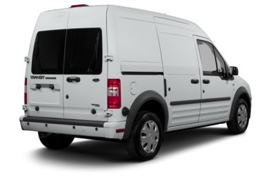 3/4 Rear Glamour  2013 Ford Transit Connect