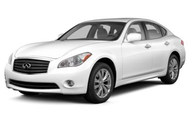3/4 Front Glamour 2013 INFINITI M37x