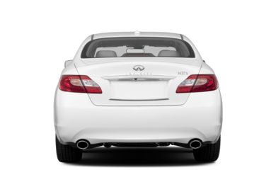 Rear Profile  2013 INFINITI M37x