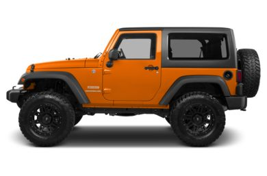 90 Degree Profile 2013 Jeep Wrangler