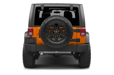 Rear Profile  2013 Jeep Wrangler