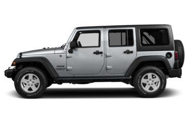 90 Degree Profile 2016 Jeep Wrangler Unlimited