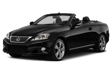 3/4 Front Glamour 2013 Lexus IS 350C