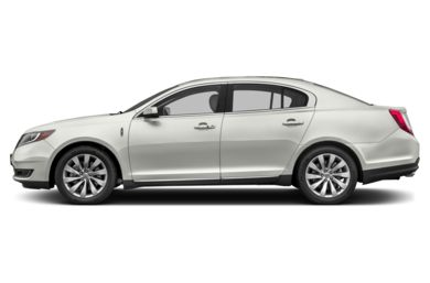 90 Degree Profile 2016 Lincoln MKS